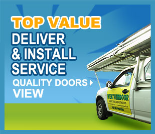 Top Value! Deliver and Install Service