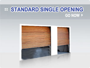 Sectional Overhead - Standard Single Opening